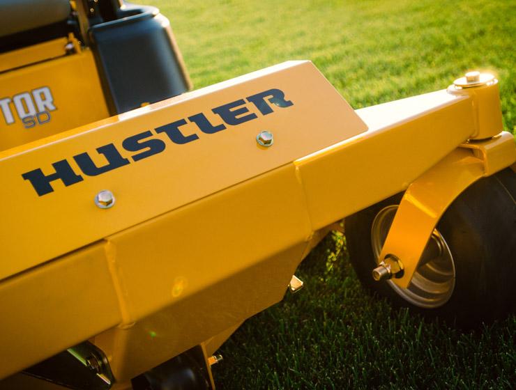 Hustler tondeuse roue en acier